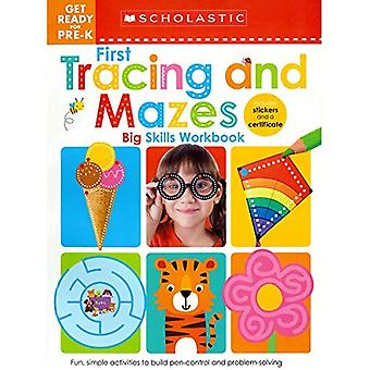 Get Ready for Pre-K Big Skills Workbook: First Tracing and Mazes (Scholastic Early Learners) (Scholastic Early Learners)