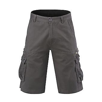 Allthemen heren korte broek mid taille katoen casual losse broek