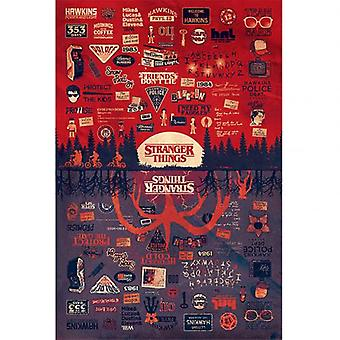 Stranger Things poster de kop 145