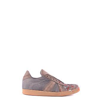 Cl Factory Ezbc249003 Men's Grey Leather Sneakers