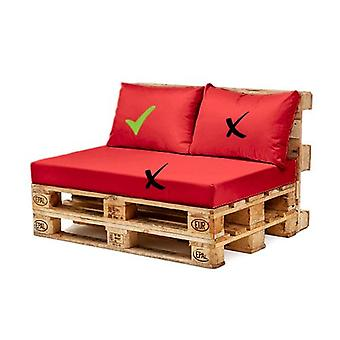 Gardenista® Red Water Resistant EU Pallet Furniture Seating Back Cushion