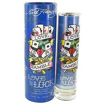 Love & Luck By Christian Audigier Eau De Toilette Spray 3.4 Oz (men) V728-454563