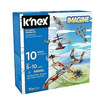 K'NEX Imagine fly borte leketøy byggesett