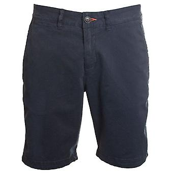 Superdry International Slim Chino Lite Shorts Mitternacht