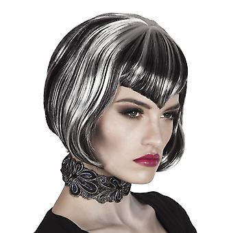 Womens Vampires Dream Wig Halloween Fancy Dress Accessory