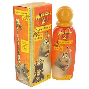 Madagascar 2 eau de toilette spray by dreamworks 462109 75 ml