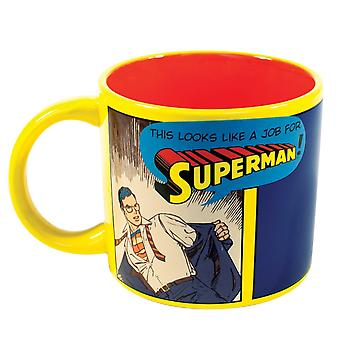Mug - DC Comics - Superman Job New Gifts Toys Licensed 3684