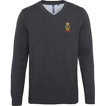 Royal Army Ordnance Corps Veteran - Licensed British Army Embroidered Jumper