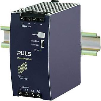 PULS DIMENSION CT10.241 Rail mounted PSU (DIN) 24 V DC 10 A 240 W 1 x