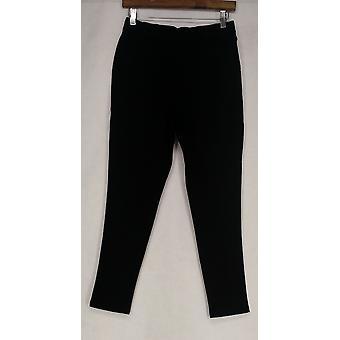 Denim & Co. Petite leggings hoe comfortabel pull-on legging zwart A256967