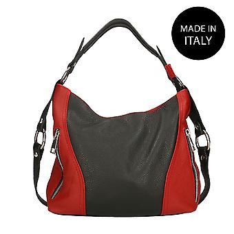 Handbag made in leather Italy 80068