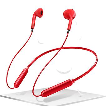 For Unnecto Quattro S - Red Wireless Bluetooth Headphones with Microphone by i-Tronixs