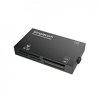 CR216 USB 2.0 All in One Memory Card Reader 6 Slot