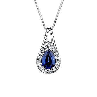 Elli sølv anheng halskjede 925-45 cm 0110992414_45