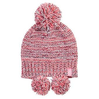 Animal knitted tibetan girls beanie