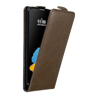 Cadorabo Case for LG STYLUS 2 Case Cover - Phone Case in Flip Design with Magnetic Closure - Case Cover Case Case Case Case Book Folding Style