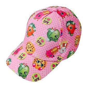 Baseball Cap - Shopkins - Girls Pink Kids/Youth New SPF01695ST