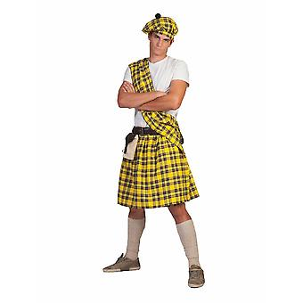 Costume Pierro's Scots Douglas Men's Costume Taille Une Taille