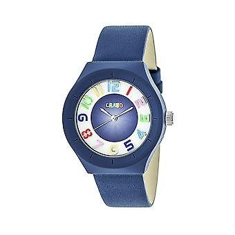 Crayo Atomic Unisex Watch - Blue
