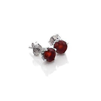 Anais Hot Diamonds Anais July Red Carnelian Earrings AE007