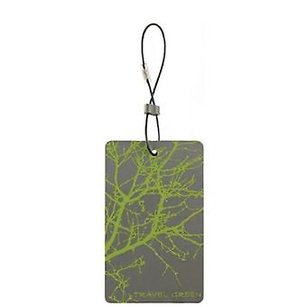 Lewis N. Clark Travel Green Branches Luggage Tag, Green #ID90GRN