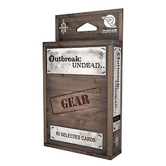 Gear Card Deck: Outbreak Undead 2E: The Survival Horror Simulation RPG