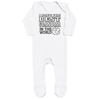I Have The Best Grandma In The World Baby Romper