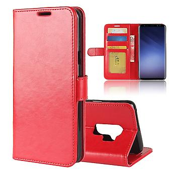 Fodral för Samsung Galaxy S9 Red Wallet