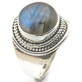 Labradorite ring 925 sølv sterling sølv dame ring (MRI 96-05)