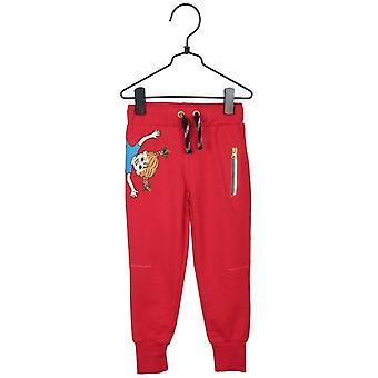 Broek Muntert, rood, Pippi Longstocking 116 cl