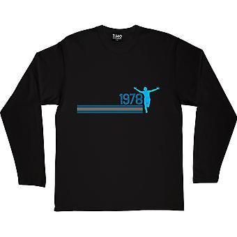 1978 Black Long-Sleeved T-Shirt