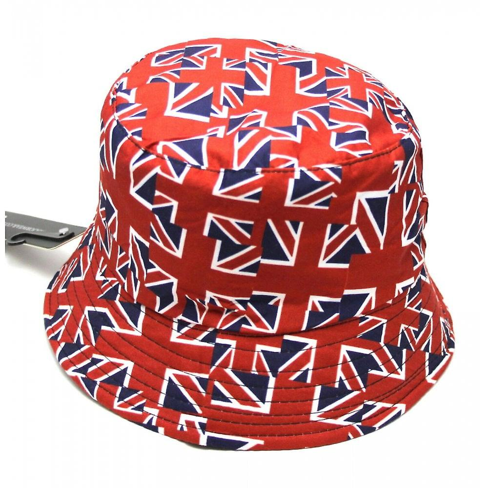 Union Jack Wear Union Jack Flag Bucket Hat
