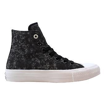Converse Chuck Taylor All Star II Hi Almost Black/Pure Silver-White 153544C Men's