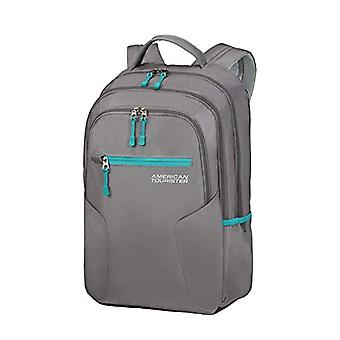 American Tourister Urban Groove Backpack PC Port - 15.6 inches - 48 cm - 26 L - Gray (Grey/Green)