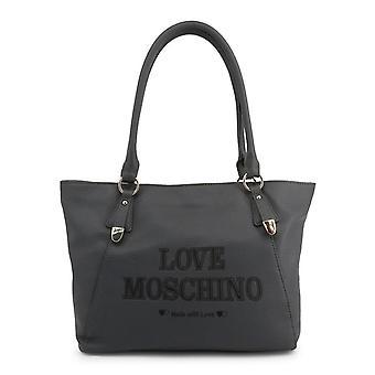 Amore moschino donne's borsa a tracolla - jc4285pp08kn, grigio