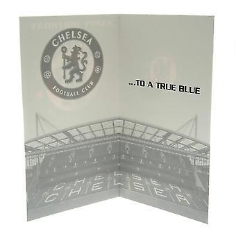 Chelsea FC Birthday Card