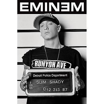 Eminem, Maxi Poster - Mugshot