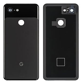 Google Battery Cover for Pixel 3 G013A Black Just Black Battery Cover Spare Part Backcover Lid Battery