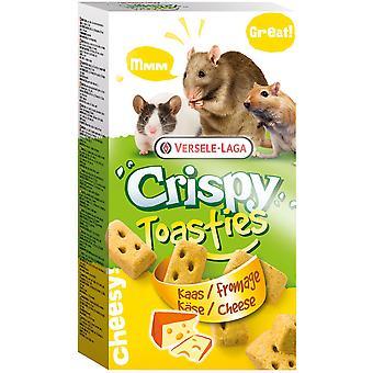 Versele Laga Snack Crispy Toasties Cheese (Small pets , Treats)