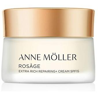 Anne Möller Rosâge Extra Rich Repairing + Creme Spf15 50 ml