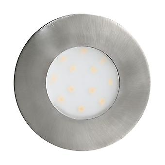 Eglo Pineda-Ip - LED Outdoor Wpuszczony spotlight Satyna Nikiel 2044 - EG96415