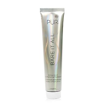 Pur (purminerals) Bare It All 12 Hour 4 In 1 Skin Perfecting Foundation - # Blush Medium - 45ml/1.5oz
