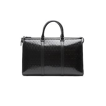 Saint Laurent 5783361ej1d1000 Women's Black Patent Leather Travel Bag