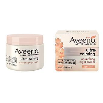Aveeno ultra uspokajający odżywczy krem, noc 1,7 uncji