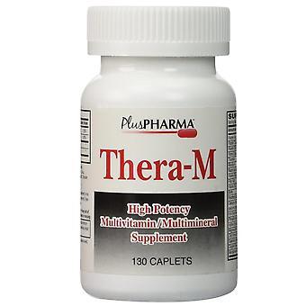 Plus pharma thera-m multivitamin multimineral, caplets, 130 ea