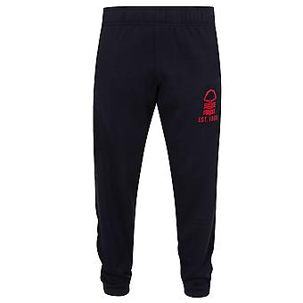 Nottingham Forest FC Cadeau officiel Boys Slim Fit Fleece Joggers Jog Pantalon