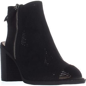 American Rag Womens chasity Peep Toe Ankle Fashion Boots