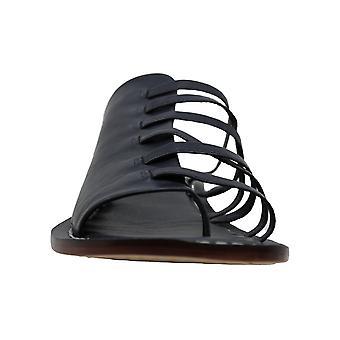 Bernardo Womens Tori Leather Open Toe Casual Slide Sandals