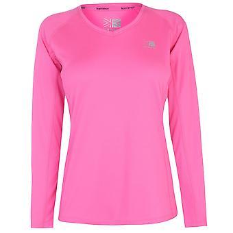 Karrimor naisten naisten vaatteet pitkähihainen juoksupaita lenkkeily T Top Tee
