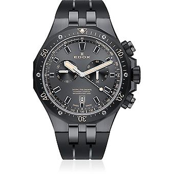 Edox - Wristwatch - Men - Dolphin - Chronograph - 10109 357GNCA NINB
